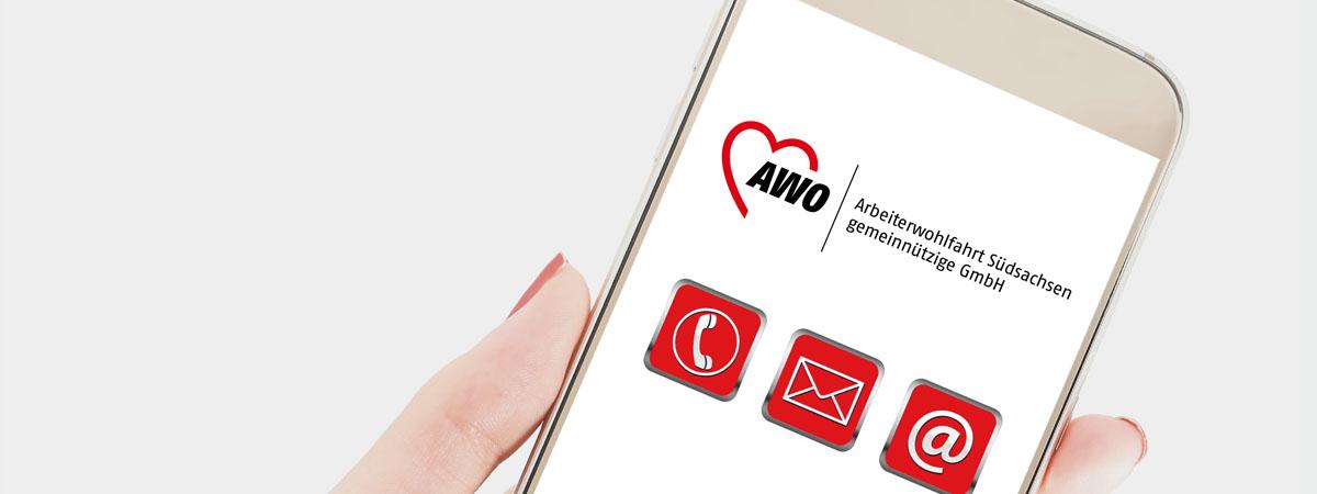 Kontakt zur AWO Südsachsen